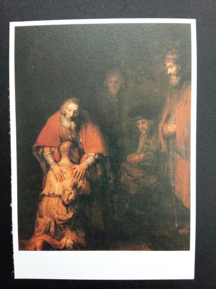 アートカードブック レンブラント「放蕩息子の帰還」