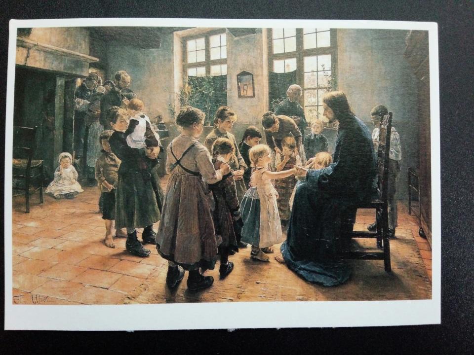 アートカードブック ウーデ「その子らを我に来させよ」
