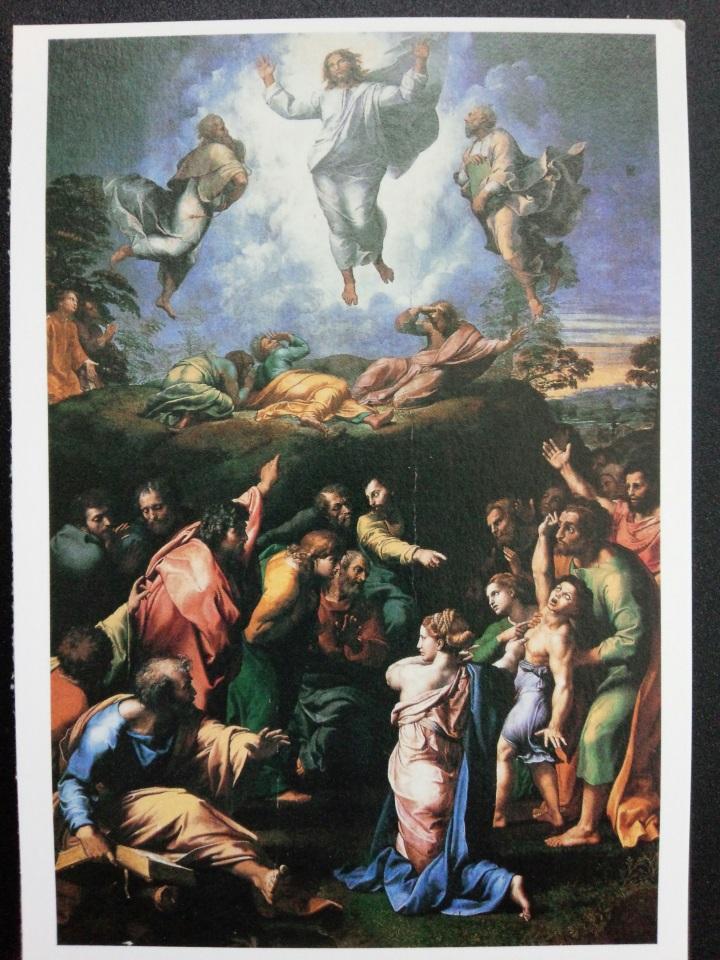 アートカードブック ラファエロ「キリストの変容」