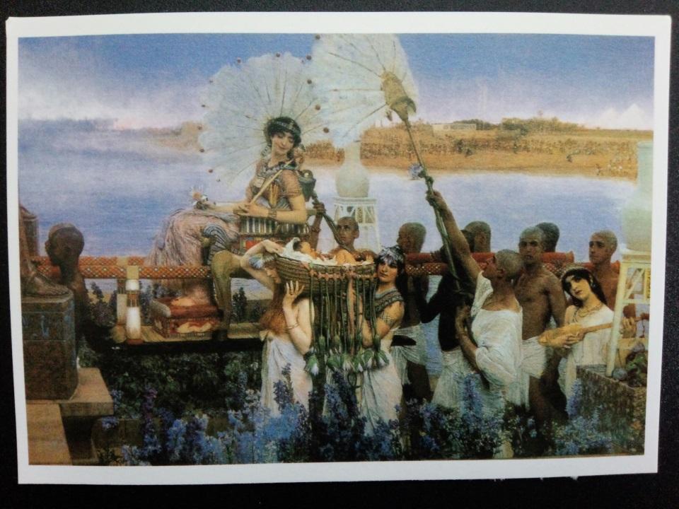 アートカードブック アルタ・タデマ「モーセの脱出」