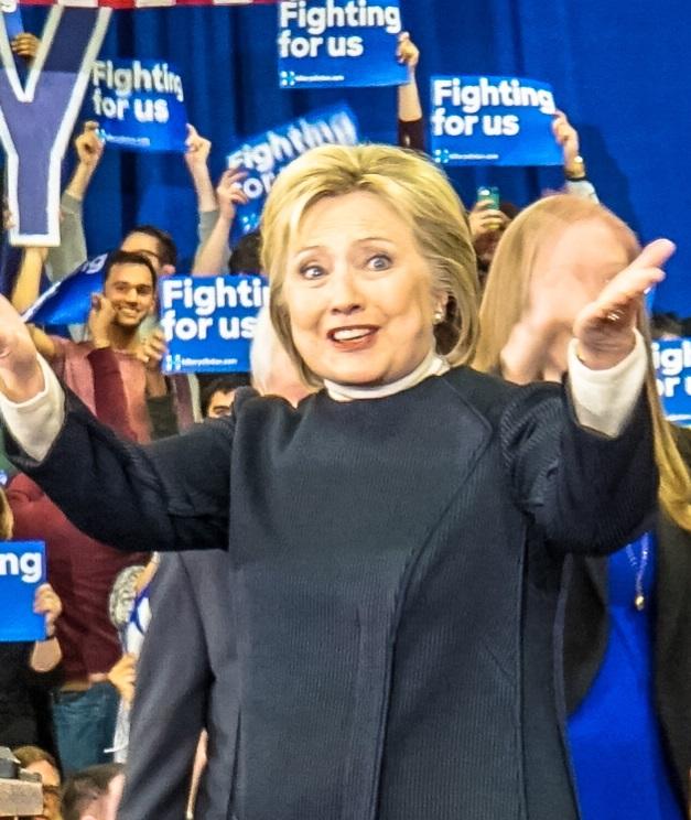 ヒラリー・クリントン 2016年