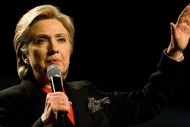 ヒラリー・クリントン 2008年