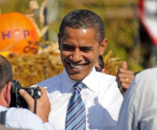 バラク・オバマ 2008年