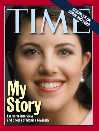 モニカ・ルインスキー My Story in TIME